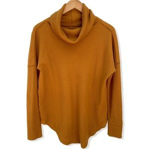 Anthropologie Waffle Cut Sweater Small